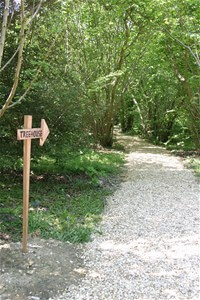 Isle of Wight Treehouse Footpath
